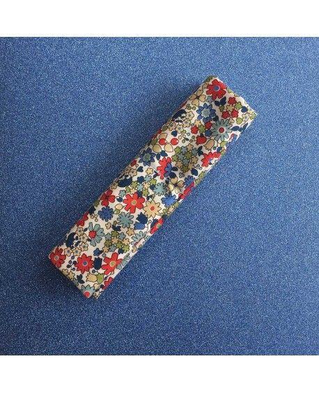 Fat Quarter - Kobayashi - blomster - rød