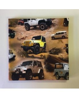 Jersey - Digitalt print - 80x80cm