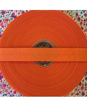 Skråbånd - orange - 1 rulle