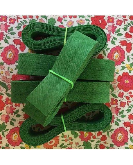 Skråbånd grøn - 3 meter