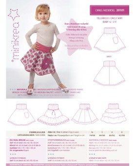 Minikrea Cirkel nederdel