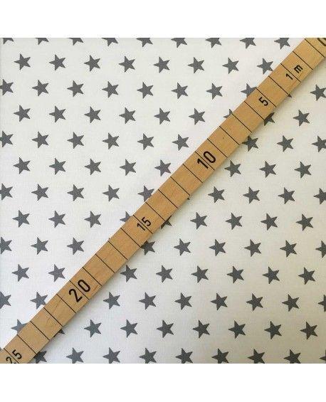 Stars petit - Hvid og grå