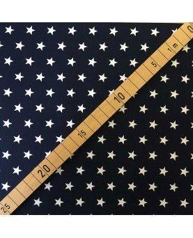 Stars petit - Mørkeblå og hvid