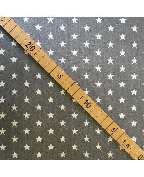 Stars petit - Grå og hvid