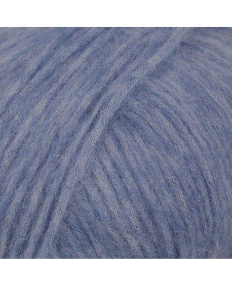 DROPS Air garn - blå uni colour 16
