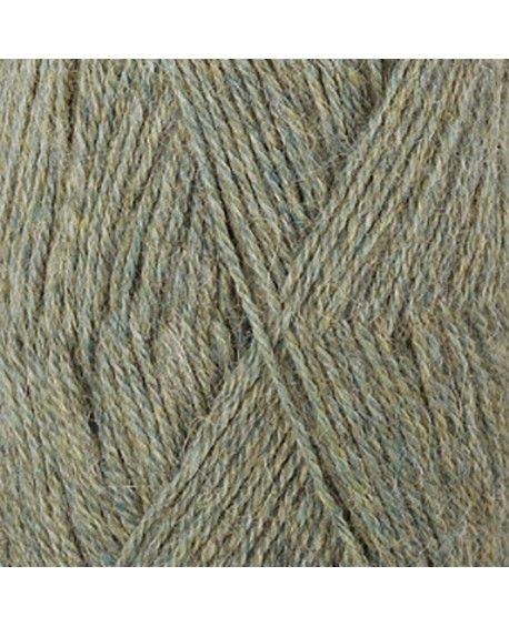 DROPS Alpaca garn - aqua grå mix 7323