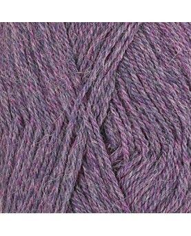 DROPS Alpaca garn - lilla violet mix 4434