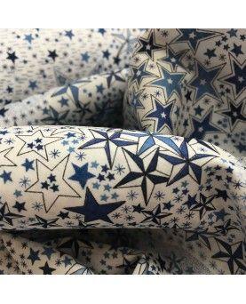 Liberty stof - Adelajda Blå