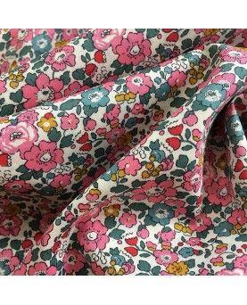 Liberty stof - Betsy Ann lyserød