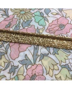 Paspoil bånd - 8mm guld