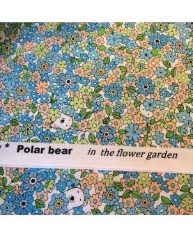 Japansk stof - Frø - Polar bear