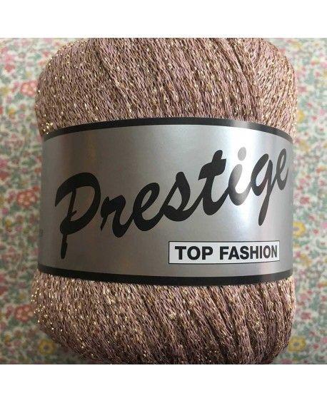 Prestige lurex garn - Beige
