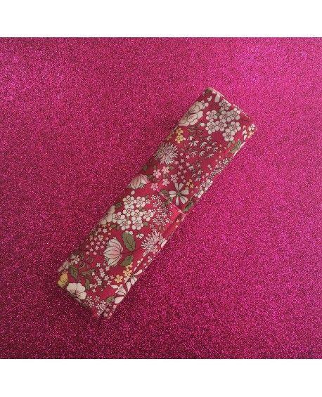Fat Quarter - Kobayashi - Blomster - Pink
