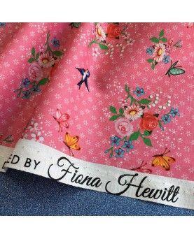 Fiona Hewitt - Stofstykke 45x75 cm