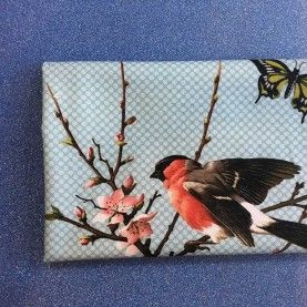 Stofstykke 45x75cm Lovebirds