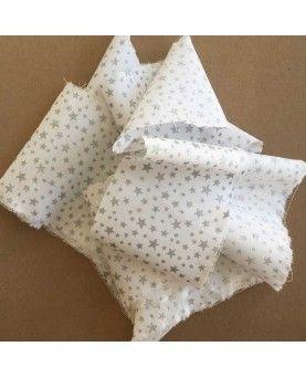 Glitter Little Star - Hvid