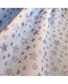 Glitter Little Star - Lyseblå