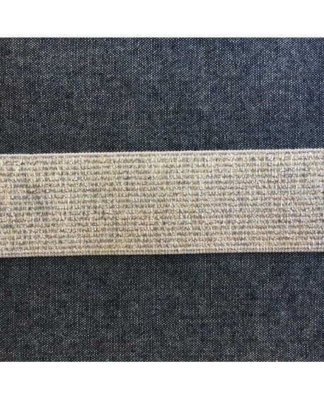 Sølv elastik 3 cm