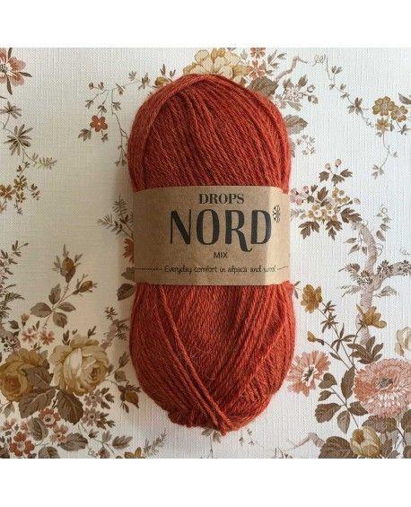 DROPS Nord garn - Rust mix 11