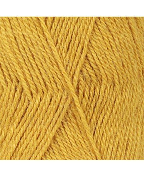 DROPS Alpaca garn - sennepsgul uni colour 2923
