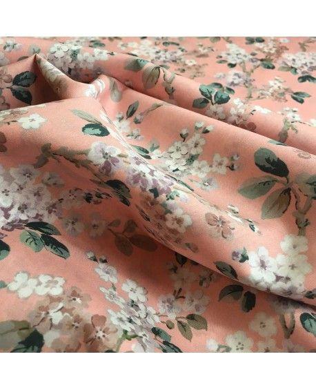 Liberty Stof Josephine lyserød