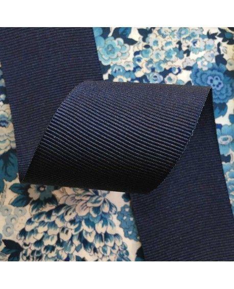 Grosgrain bånd 38mm mørkeblå