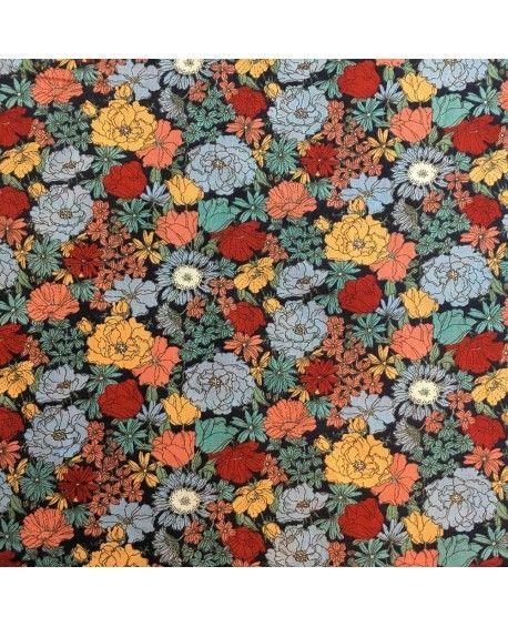 Kokka fabric - Blomster