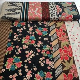 Kokka fabric - Haikara mix