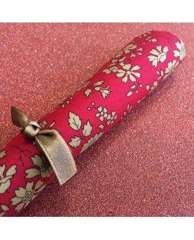 Liberty stofstykke 45x65cm - Capel rød