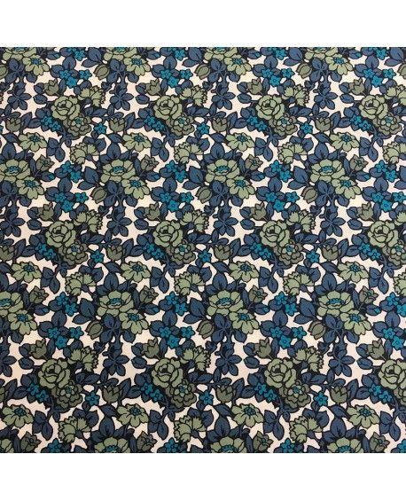 Liberty Poplin Anthology blå og grøn