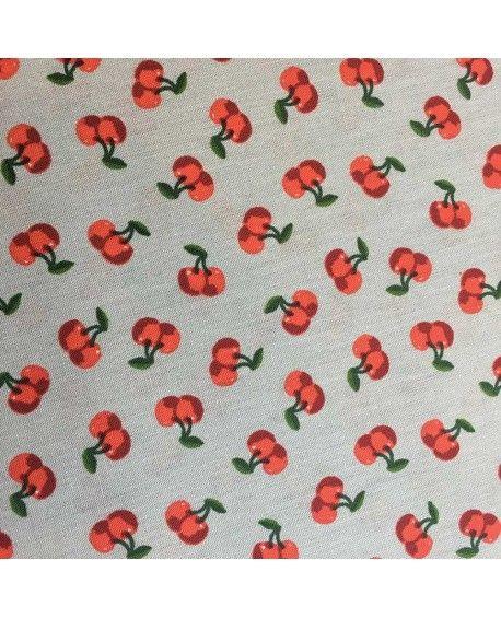 Bomuldsstof Cherry Blossom