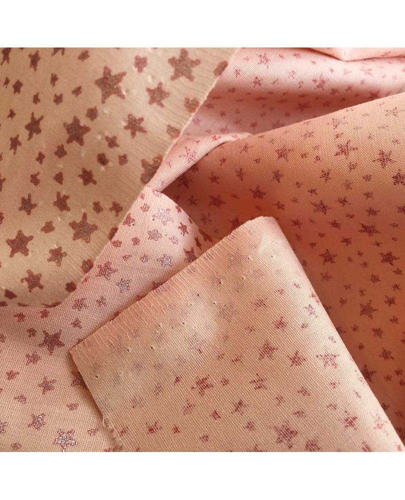 Glitter Little Star - Coral