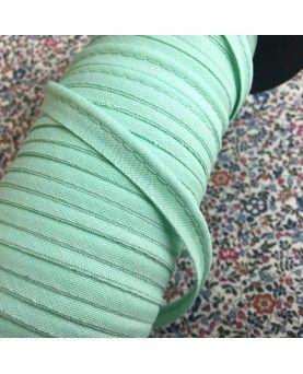 Tittekant bomuld - mintgrøn