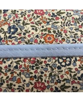 Tittekant bomuld - pastel lyseblå