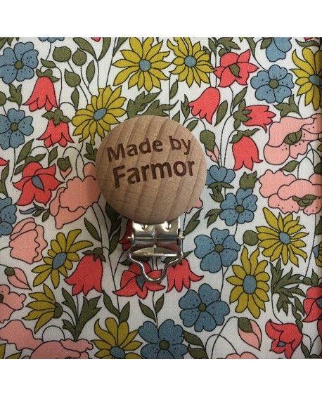 Seleclips rund - made by farmor