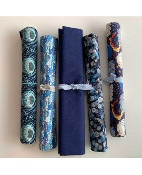 Candy Cotton - Ink blue - 45x70cm