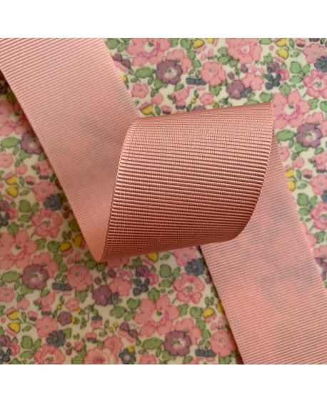 Grosgrain bånd 38mm Pastel lyserød