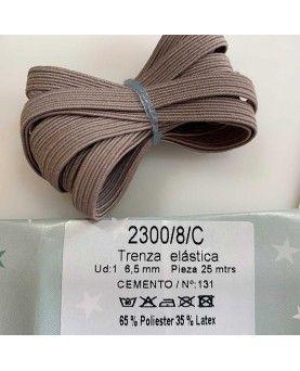 Elastik bånd - 2meter - Beige