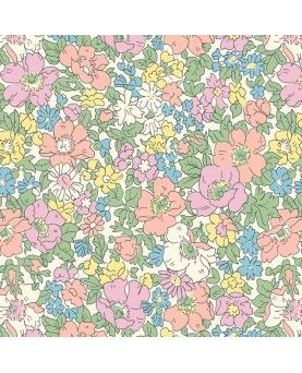 Liberty Quilting Stof - COSMOS MEADOW 04775611W