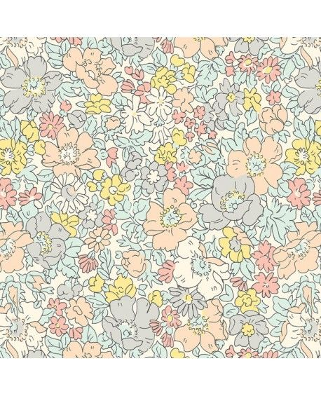 Liberty Quilting Stof - COSMOS MEADOW 04775611X