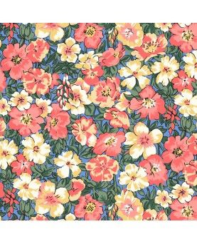 Liberty Quilting Stof - PEACH BLOOM 04775626Y