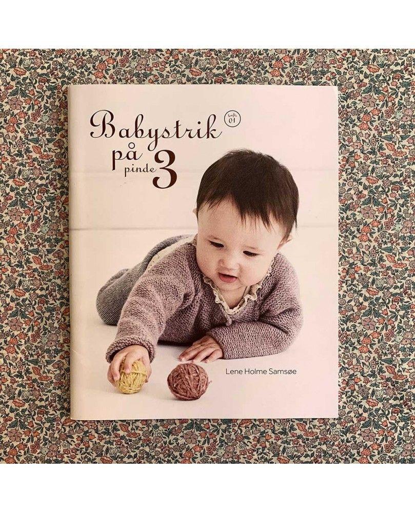 Babystrik på pinde nr 3