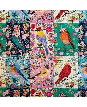 Stof - Birdie Collection by Mia Charro - Multi