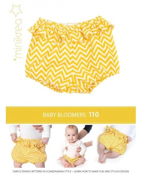 Minikrea  Baby Bloomers Papirmønster