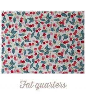 Liberty stof fat quarters 45x70cm Cherry Drop 012202120B
