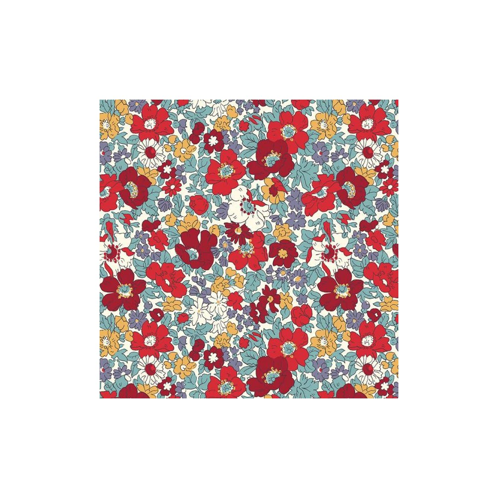 Liberty Quilting Stof fabric - Cosmos Bloom 04775718C