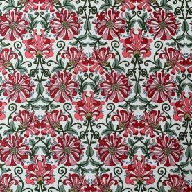 Liberty fabric stof Honeysuckle 012202103A med blomsterprint