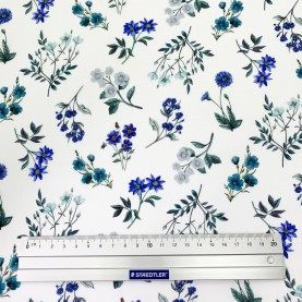 Blomstret Liberty Stof AnneLiese 036302113B