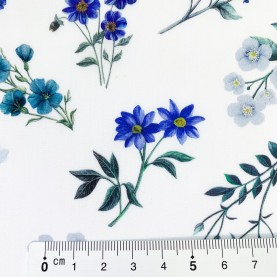 Liberty Stof med blomster AnneLiese 036302113B