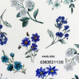 blomstret stof Liberty Anneliese 036302113B